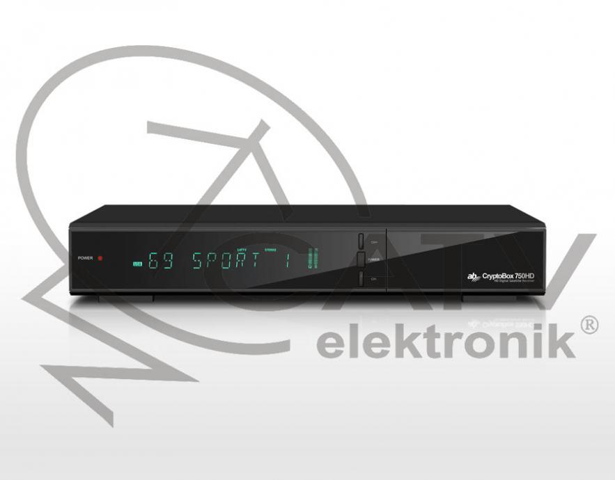 Cryptobox 750 HD - DVB-S2/H.265 HEVC - satelitski digitalni prijemnik