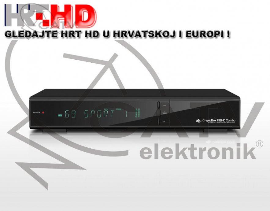 Cryptobox 752 HD - DVB-S2/T2 H.265 HEVC - combo digitalni prijemnik