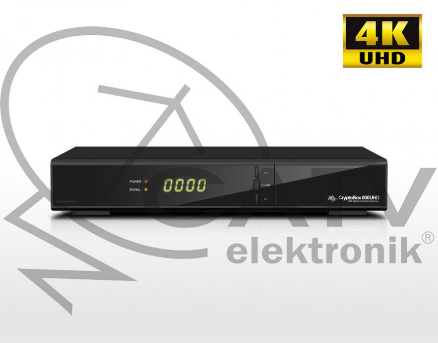 Cryptobox 800 UHD - DVB-S2/H.265 HEVC - 4K satelitski prijemnik