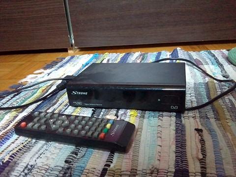 DVB-T receiver STRONG 5202