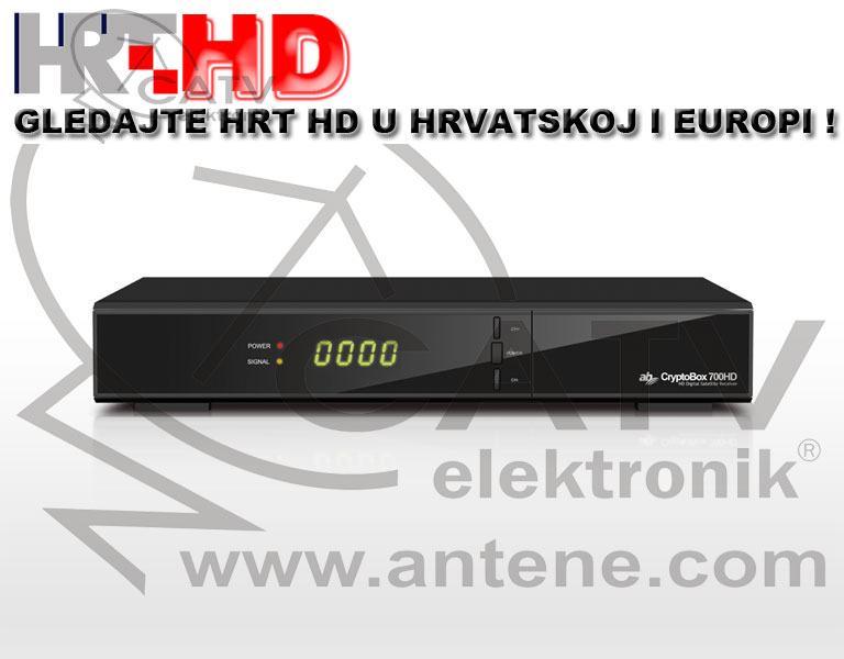 Cryptobox 700 HD - DVB-S2/H.265 HEVC - satelitski digitalni prijamnik