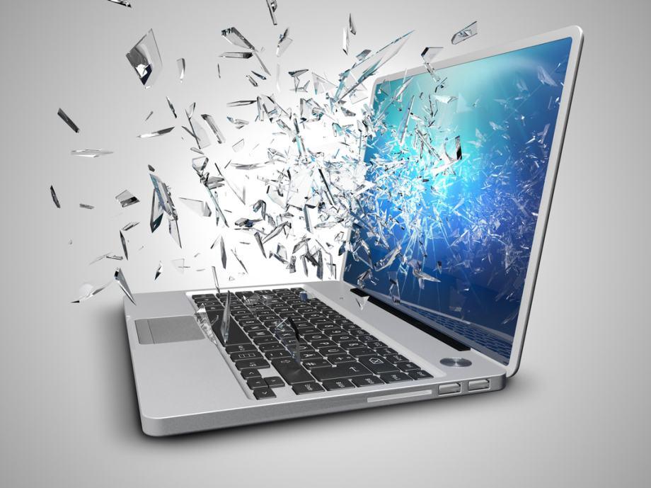 Zamjena ekrana laptopa - šarke - flat kabel