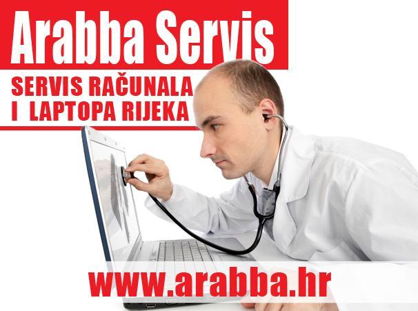 Servis računala RIJEKA - ARABBA servis