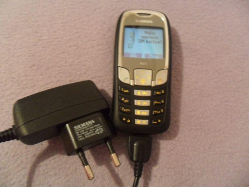 Mobitel Siemens A65, radi na mreže: 097, 098 i 099      KARLOVAC