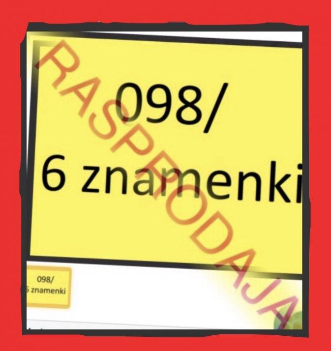 098+6 znamenki: više od 100 brojeva mobitela u ponudi, već od 19kn/sim