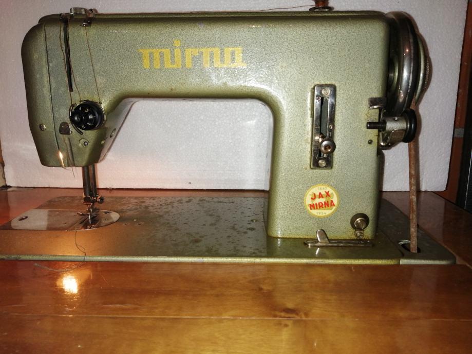 Šivaća mašina MIRNA JAX iz 1954 godine