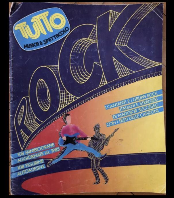 album sa sličic. /Tutto 1985./ 108 minibiograf.svjetskih rock band /PU