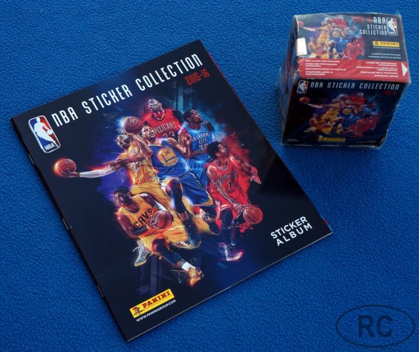 PANINI ◄NBA Basketball 2015/16► prazan album +  paket sličica