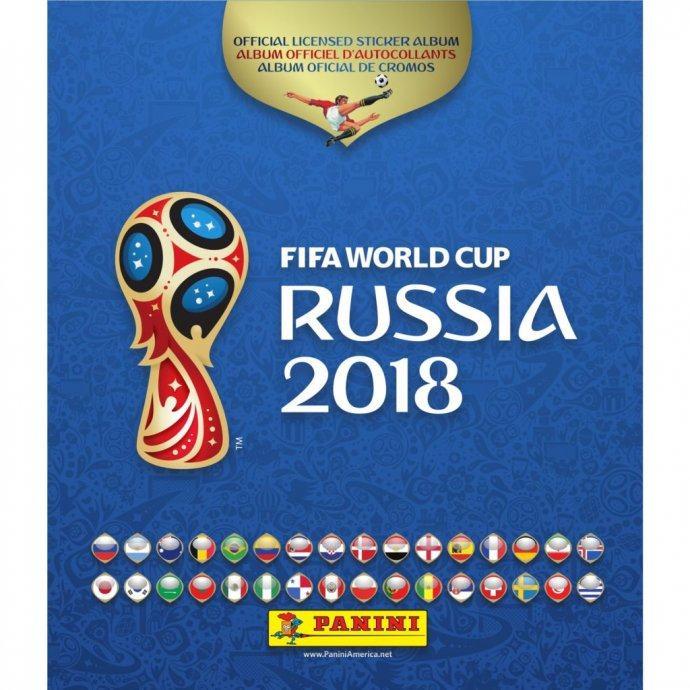 Panini Rusija 2018