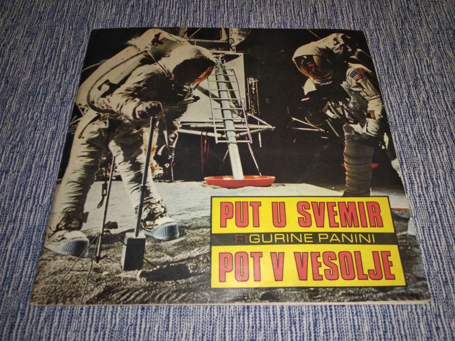 Put u svemir - album za sličice 1973.