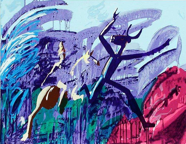 Ferdinand Kulmer Ferdinand-kulmer-ljubicasto-serigrafija-70x90cm-slika-1083855