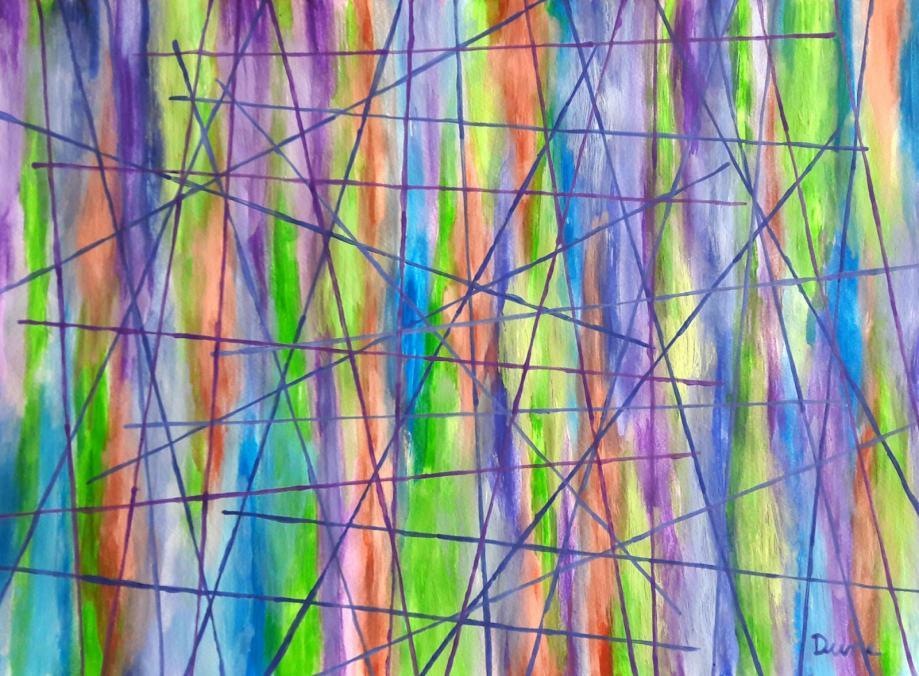 Linije Apstraktna Slika