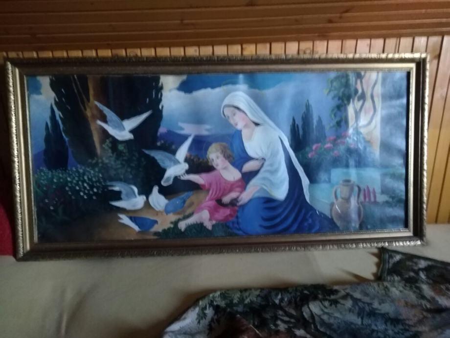 Majka Bozja u igri sa sinom ISUSOM