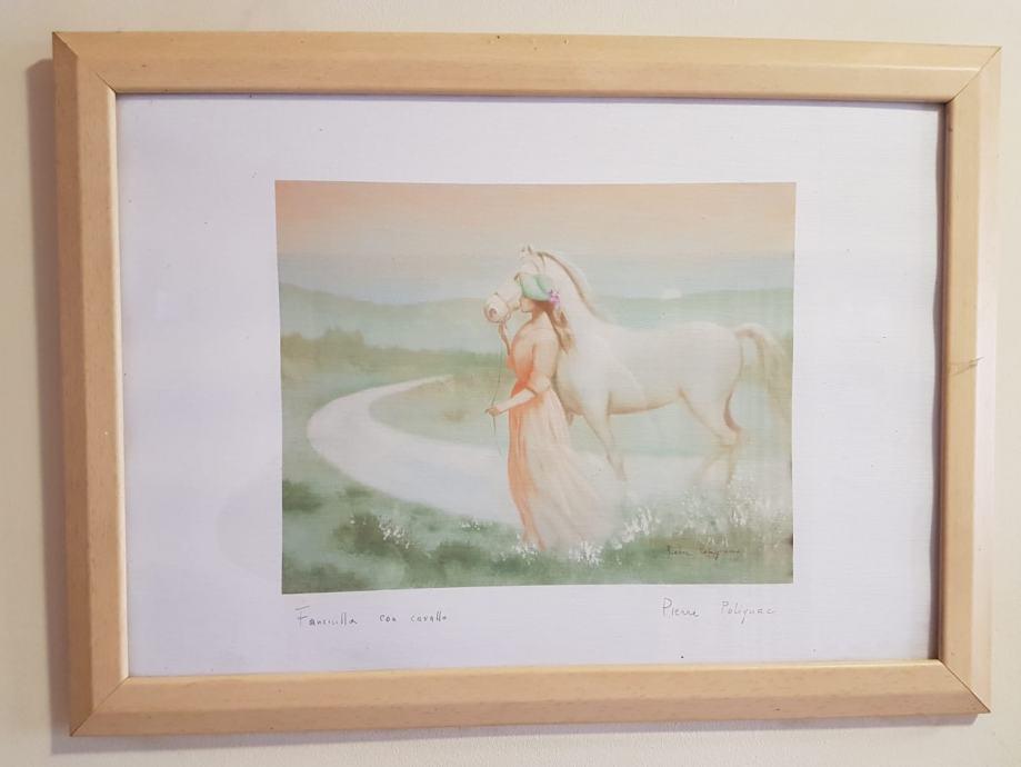 Pierre Polignac - djevojka s konjem
