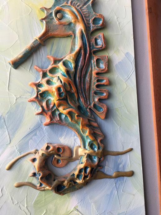 Slika keramički vodeni konjić Orginal