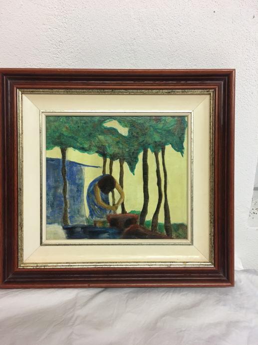 Slika pejzaž, uljena boja  Hazaisy