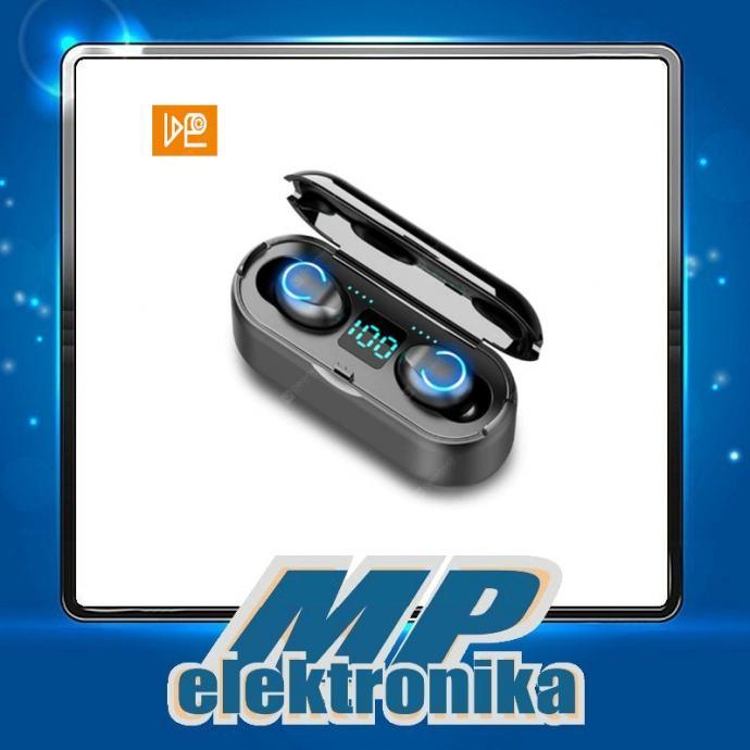 Bežične slušalice F9 V5.0 + EDR Bluetooth Black