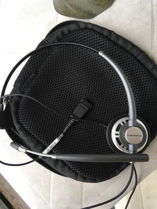 Slušalice Plantronics EncorePro Monaural za jedno uho sa mikrofonom