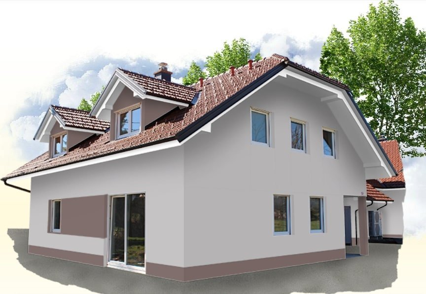 BOJANJE FASADA  Akcijska ponuda već od 39kn/m2