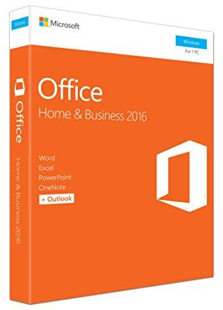 MICROSOFT Office 2016 Home and Business - NOVO!!!