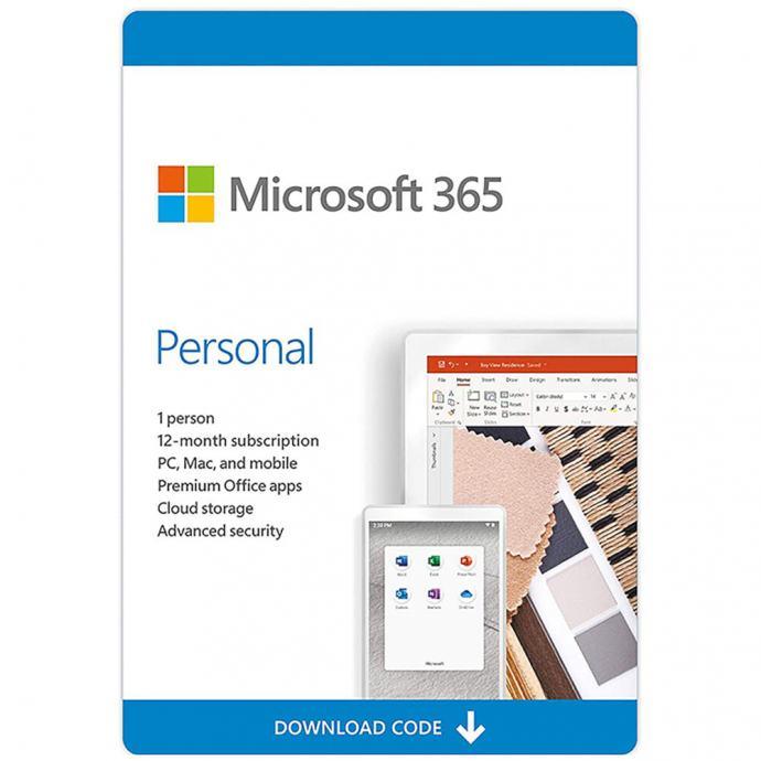 MS Office 365 Personal | ESD | 1 PC 1GOD. | Win|Mac | Orig. | Rč R1