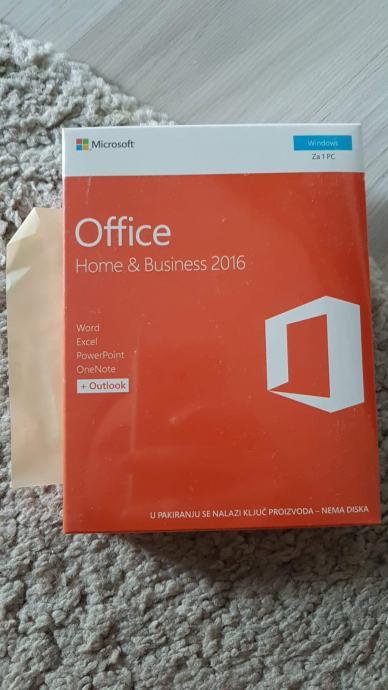 Microsoft office paket 2016