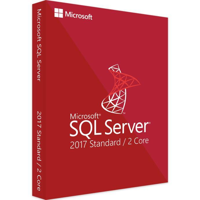 MICROSOFT SQL SERVER 2017 2 CORE