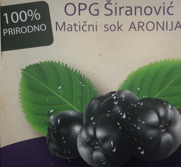 Aronija matični sok = 2000 LITARA!!!! - jedinstvena ponuda