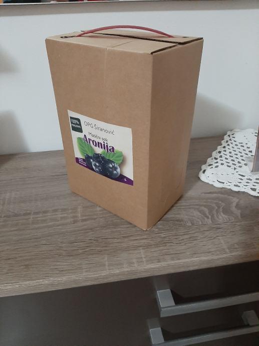 Aronija matični sok = Bag in box 3 L- jedinstvena ponuda