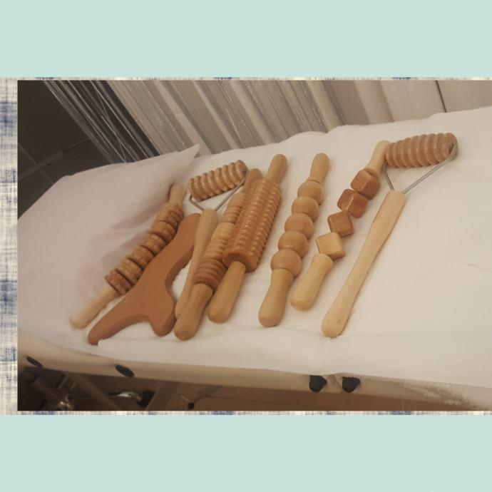 Drvene oklagije za maderoterapiju