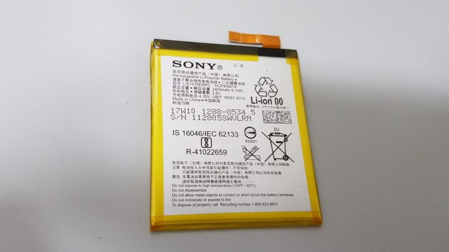 Sony M4 Aqua Nova baterija Orig