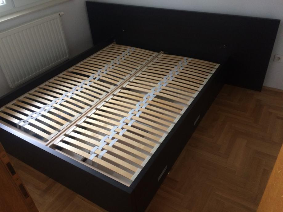 Krevet od punog drveta+podnice