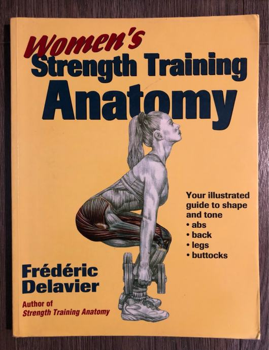 Ženska anatomija treninga snage Women's strenght training anatomy