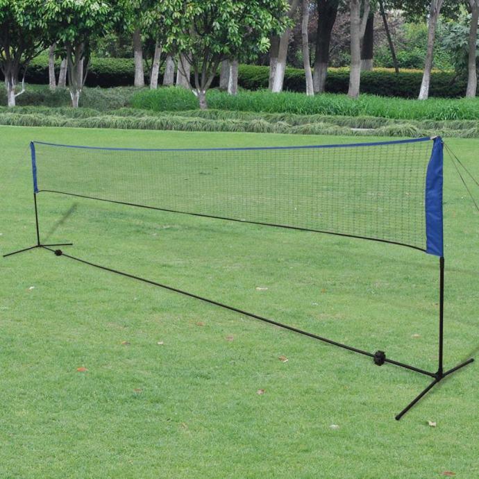 Mreža za Badminton s Lopticama 600x155 cm - NOVO