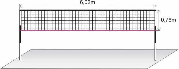 Mreža za badminton Standard