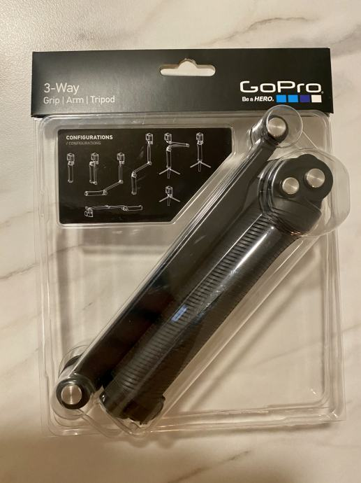 Nosač za akcijsku kameru GoPro 3-Way Grip / Arm / Tripod (AFAEM-001)