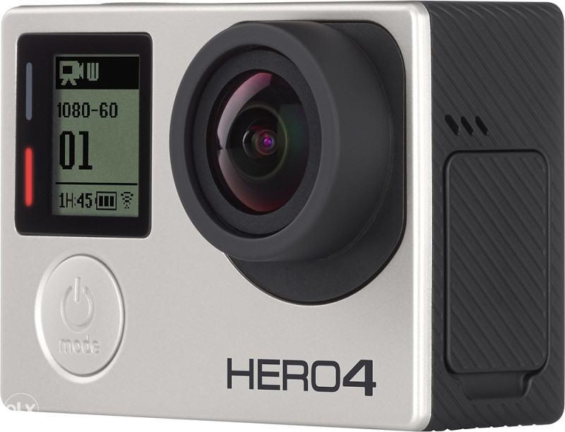 GoPro Hero 4 Silver Edition 4K + 64GB microSD