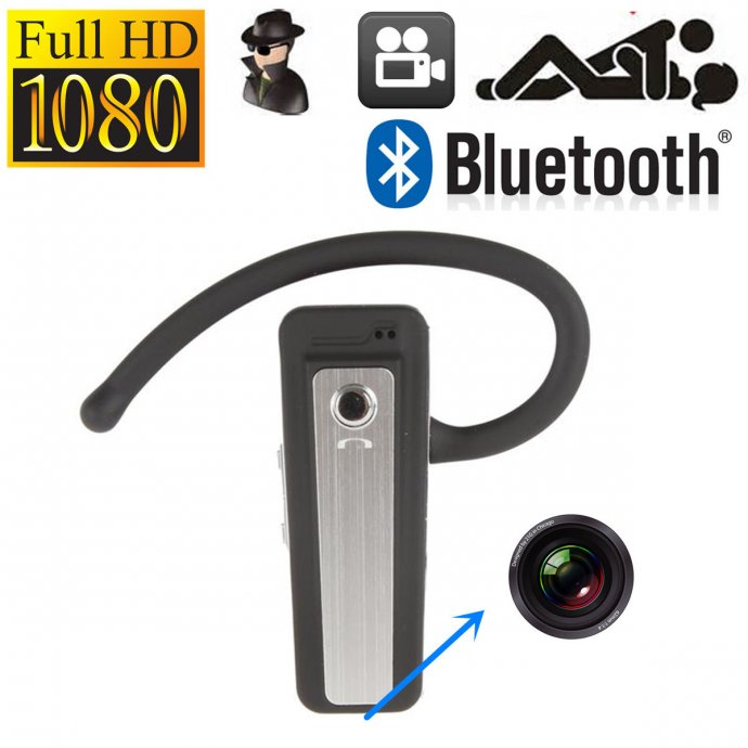 Mini kamera u bluetooth slušalici