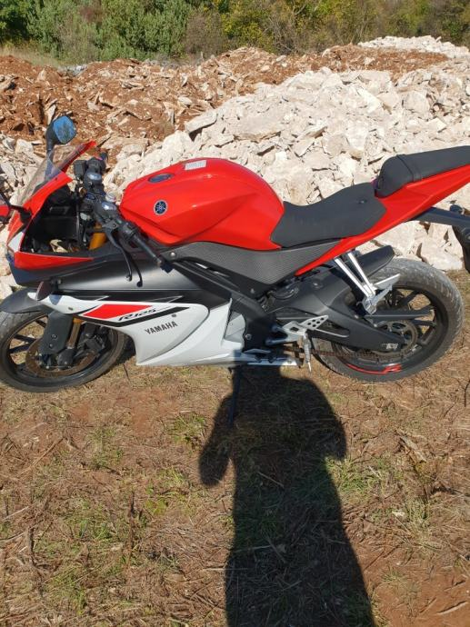 Yamaha WR 125 R 125 cm3, 2017 god.