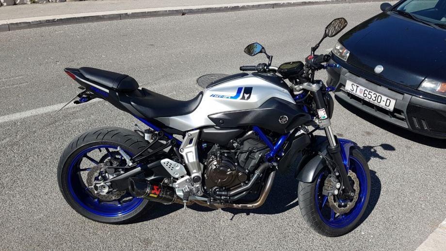 Yamaha Mt 07 Abs 2016 2016 God