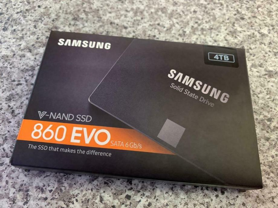 Samsung SSD 4TB