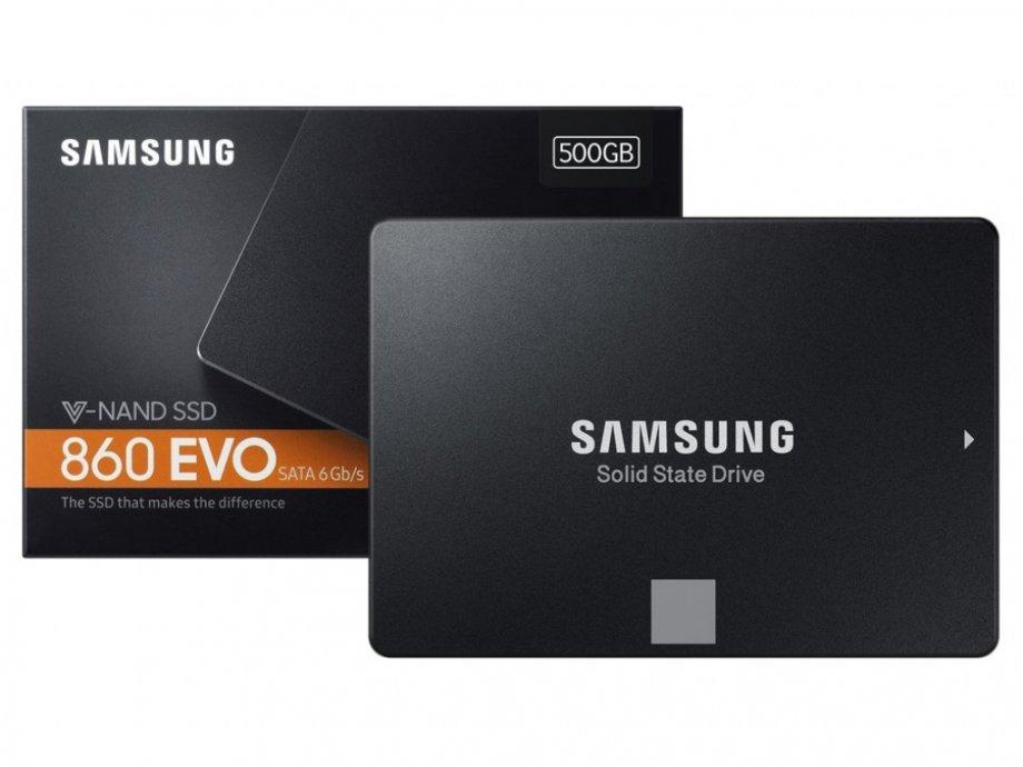"Samsung SSD 860 EVO 2.5"" SATA III 500GB NOVO - ZAPAKIRANO"