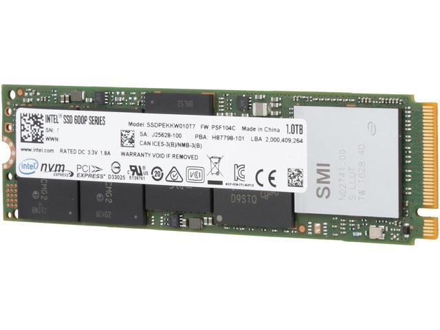 SSD DISK M2 INTEL 600P 1TB, GARANCIJA  **DO 12 RATA** POVOLJNO, R1!