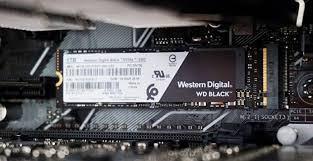 WD Black SSD 500GB, NVMe M.2 2280 PCIe Gen3.0 x4