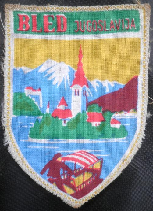 Prišivka Bled Jugoslavija
