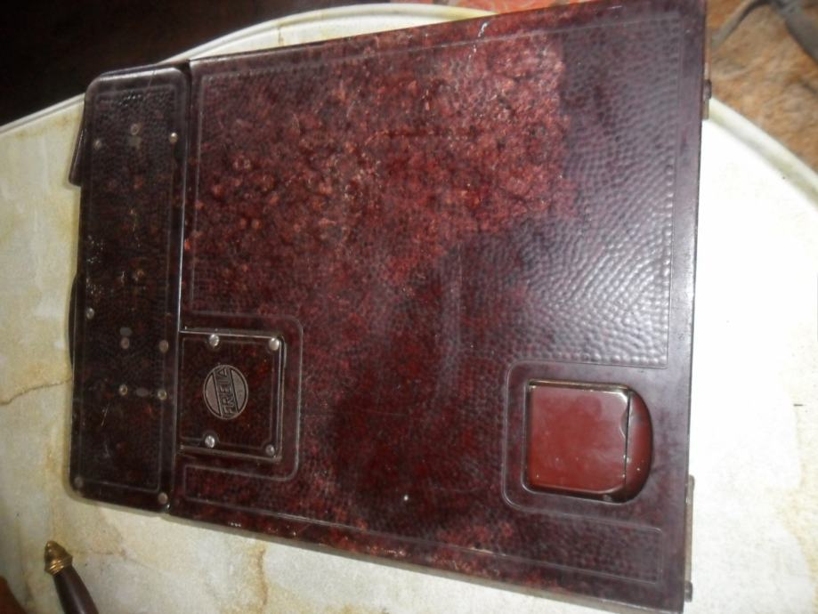 stara šivača mašina FREIA Pat sa kutijom-zamjene za starine