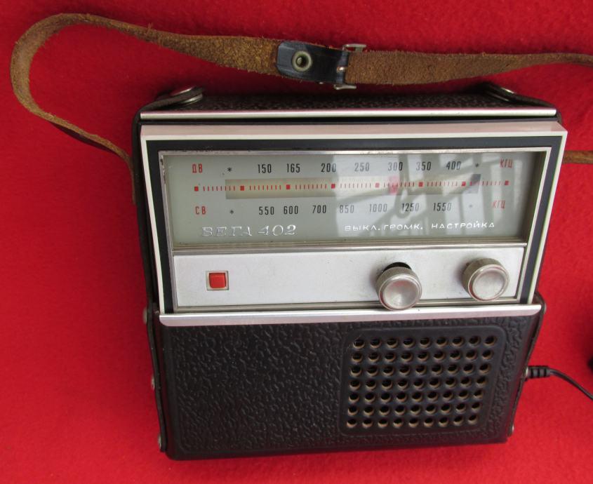 VEGA 402 RUSIJA, STARI RADIO TRANZISTOR