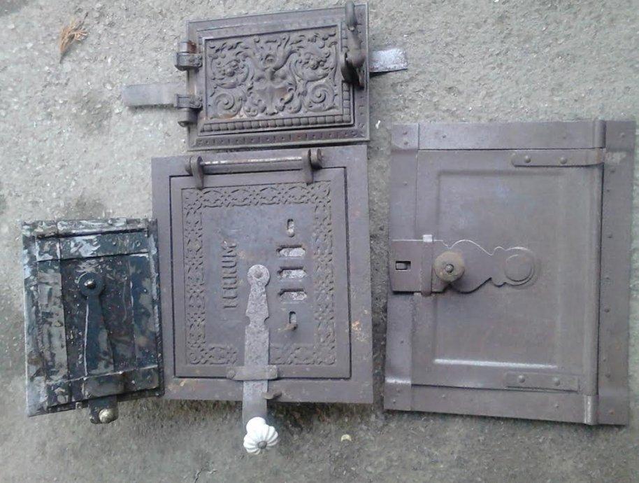 vrata  za kamine i ostale peći