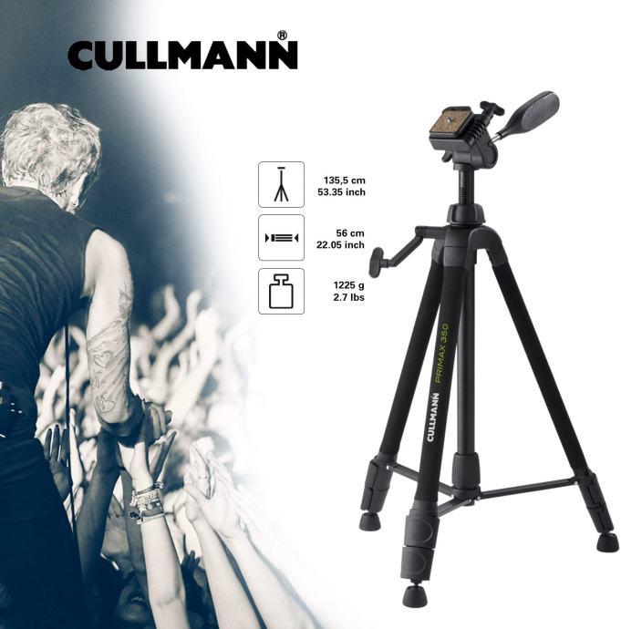 Stativ Cullmann Primax 350, malo korišten, KAO NOV !!