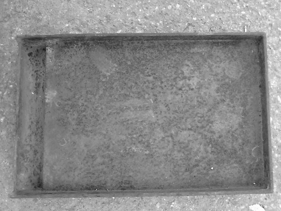 Grill ploča za plinski roštilj od ljevanog željeza 400 x 250 mm